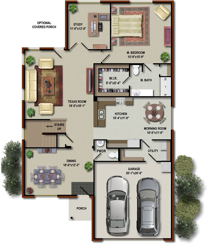 No Chimneys floorplan 3