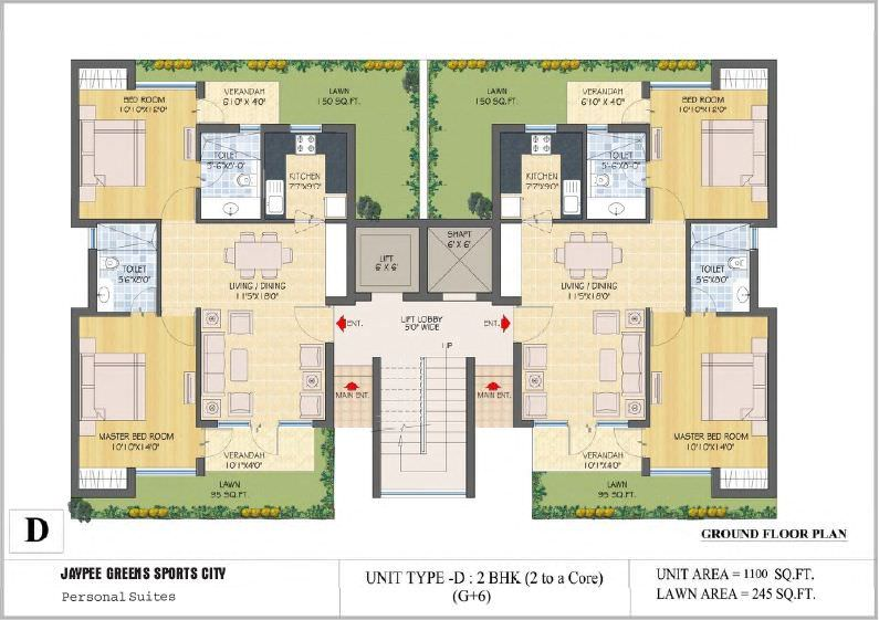 Pretty Corner floorplan