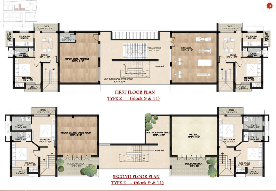 Four Walls floorplan 2