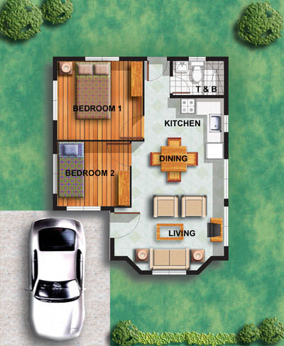High Corner floorplan 4