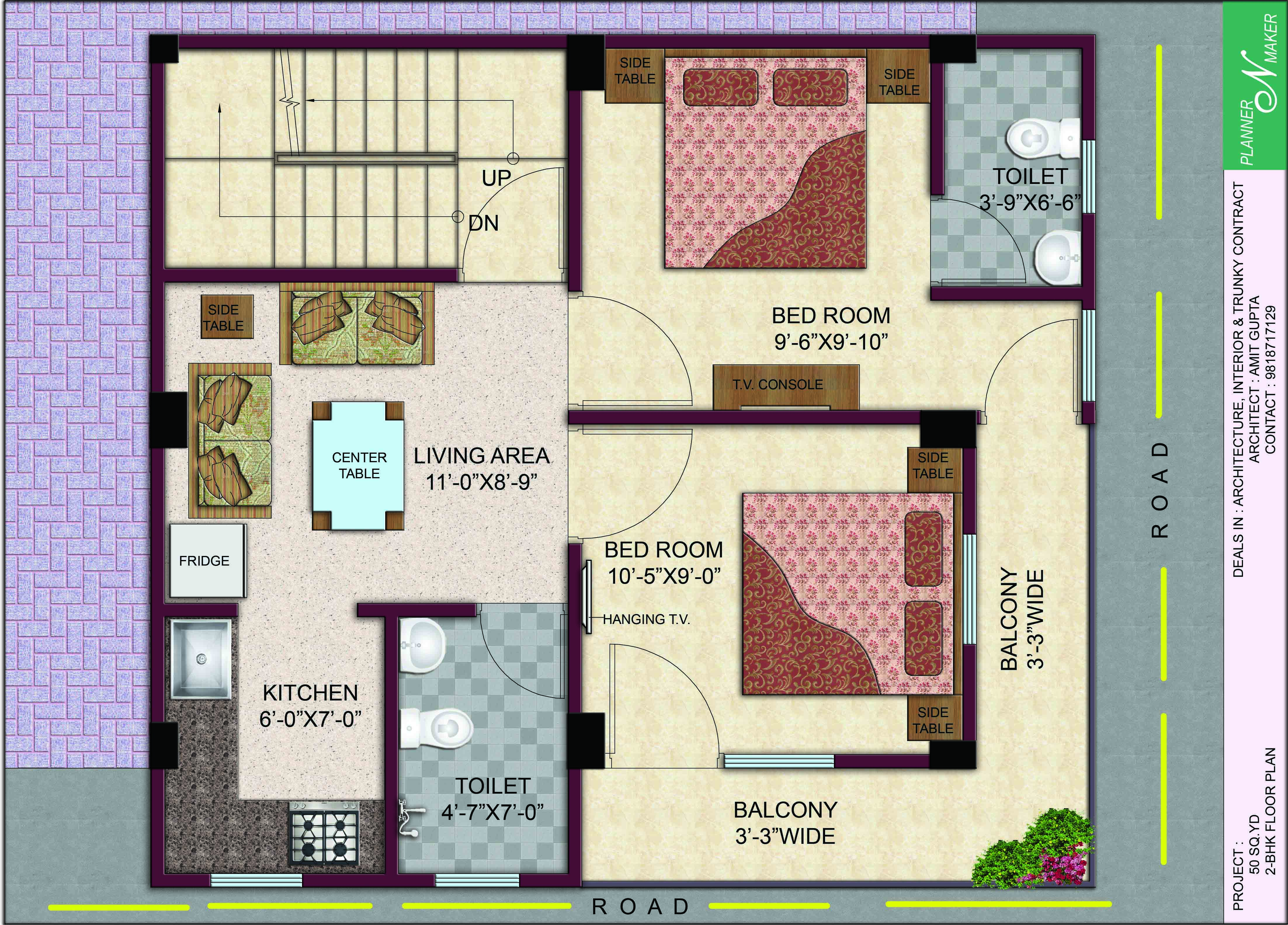 New Villa Reale floorplan 4