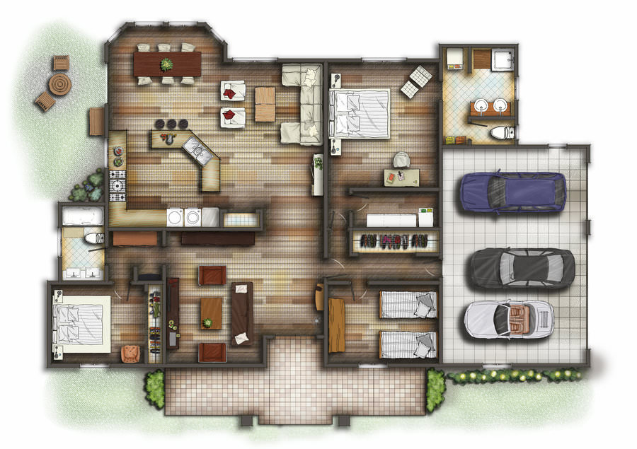 Moonbeams floorplan 3