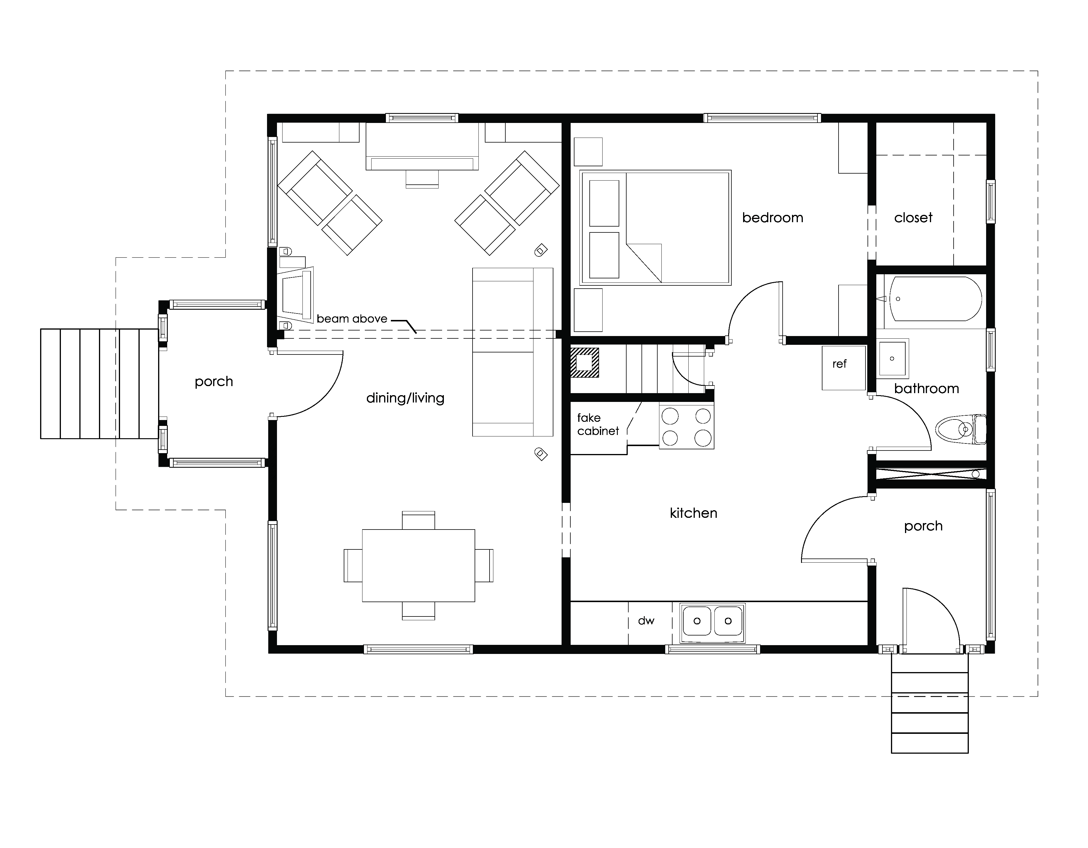 The Hilton floorplan 2